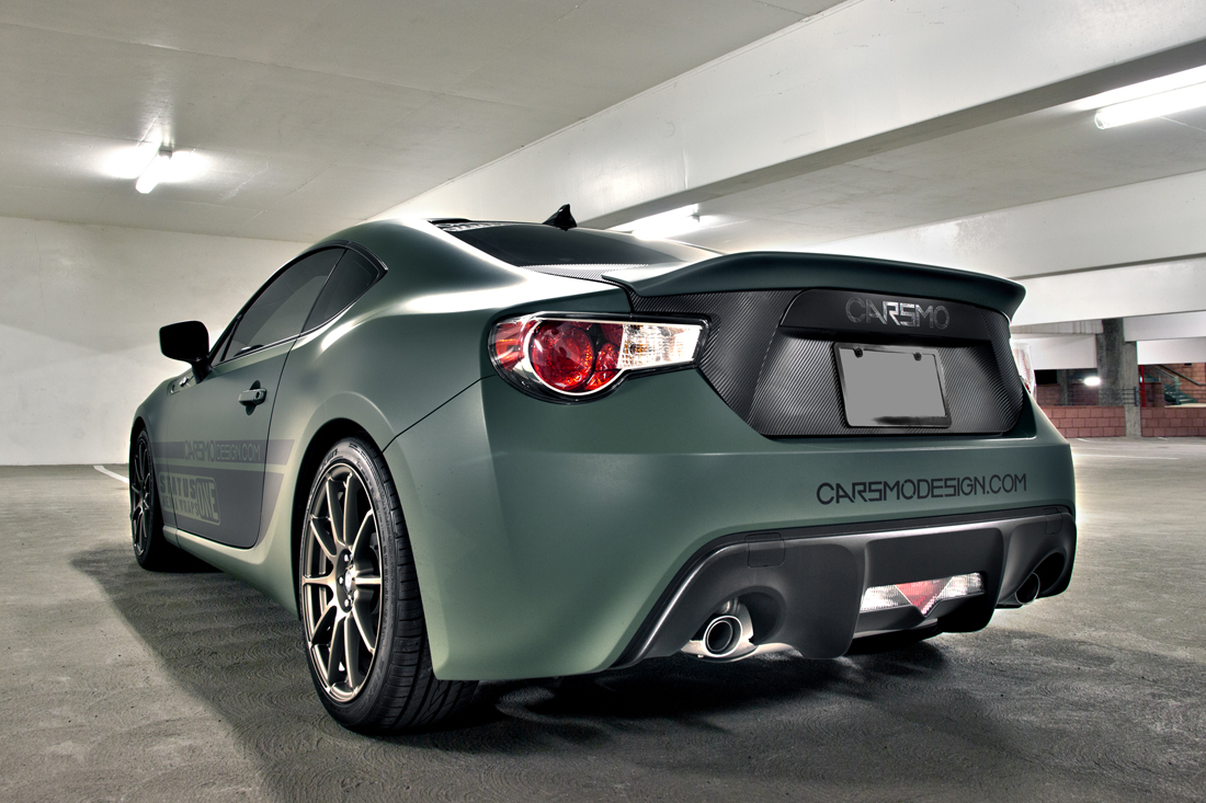Carsmo rear spoiler test fit request on BRZ - Scion FR-S ...